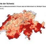 Radonkarte Schweiz